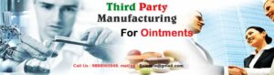 contract manufacturing company for ointment