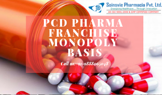Pcd Pharma Franchise on Monopoly Basis